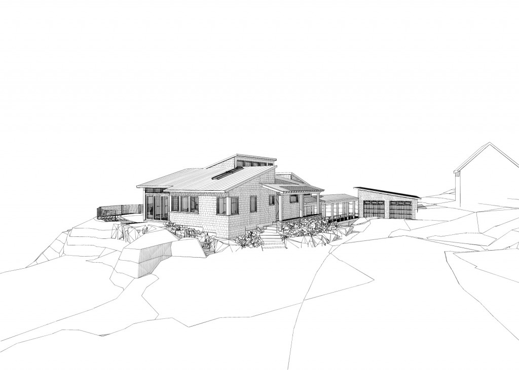 Rendering of Falmouth House