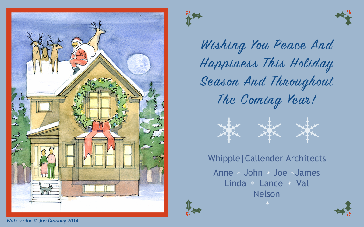 2014 Holiday Greetings Plus Our 2013 Christmas Video Whipple